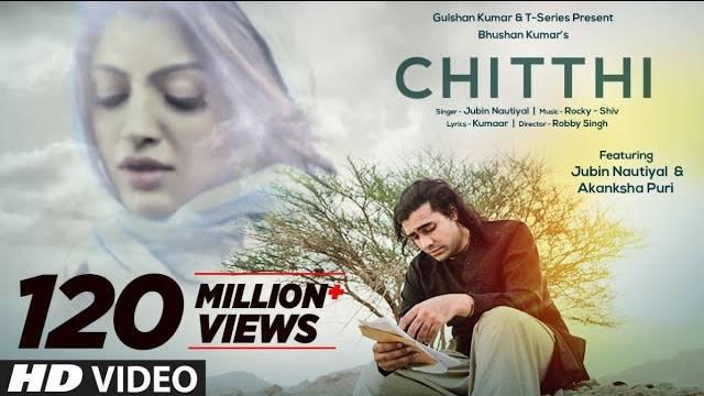 Chitthi Song Lyrics | Jubin Nautiyal