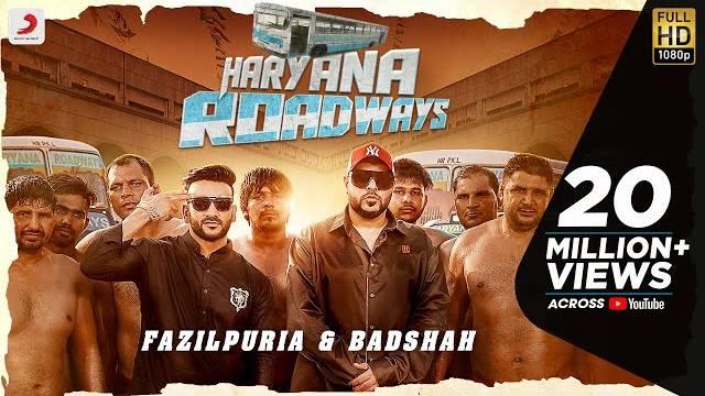 Haryana Roadways Lyrics   Fazilpuria & Badshah