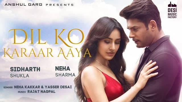 Neha Kakkar - Dil Ko Karaar Aaya Lyrics