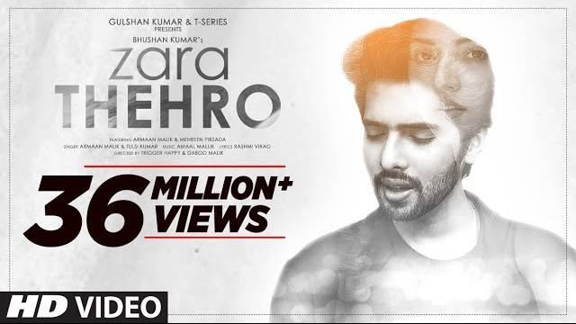 Zara Thehro Full Song Lyrics | Latest Hindi Songs 2020