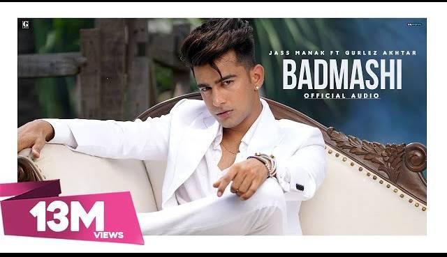 Jass Manak Song Badmashi Lyrics | Gurlez Akhtar