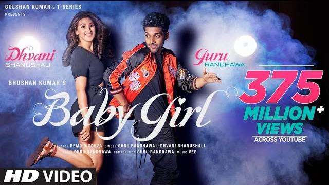 Guru Randhawa - Baby Girl Lyrics | Dhvani Bhanushali