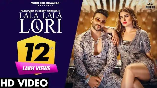Lala Lala Lori Lyrics In Hindi | Fazilpuria & Afsana Khan