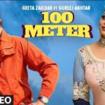 100 Meter Lyrics In Hindi - Gurlej Akhtar | Geeta Zaildar