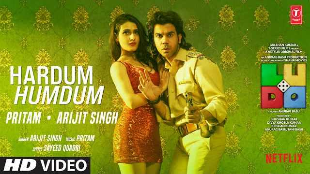 Arijit Singh - Hardum Humdum Lyrics In Hindi | T-Series