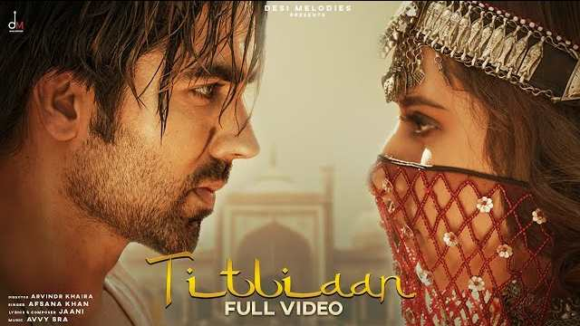 Titliaan Lyrics In Hindi | Jaani | Afsana Khan | Harrdy