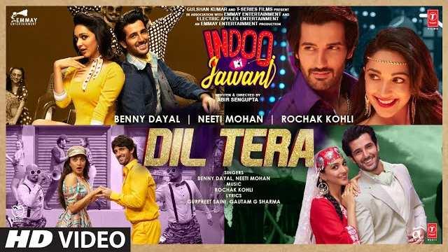 Dil Tera Lyrics - Benny Dayal | Neeti Mohan