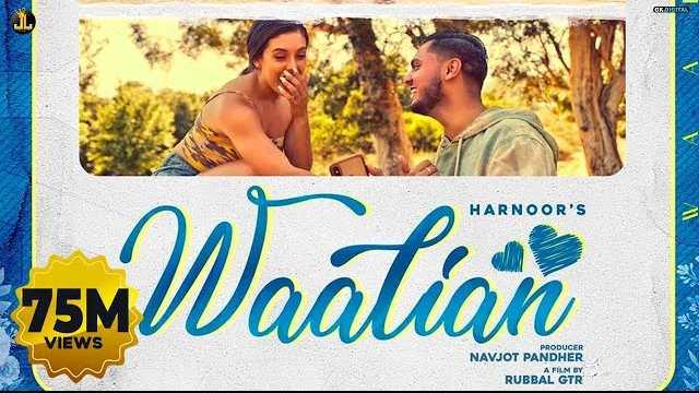 Waalian Lyrics In Hindi | Harnoor | The Kid