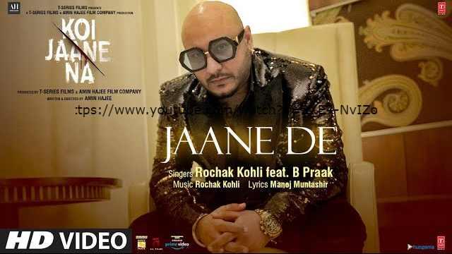 JAANE DE LYRICS IN HINDI | B PRAAK