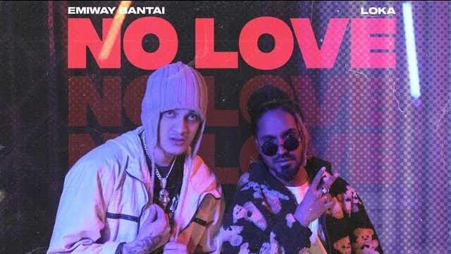 No Love Lyrics In Hindi | Emiway Bantai
