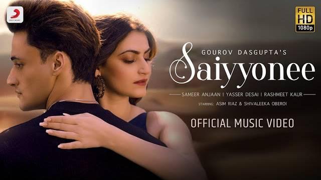 SAIYYONEE LYRICS - Asim Riaz | Yasser Desai