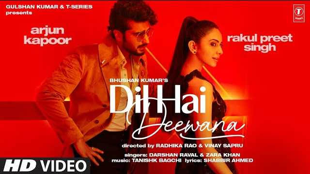 Dil Hai Deewana Lyrics | Darshan Raval