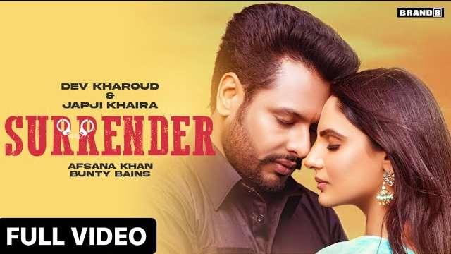 Surrender Lyrics In Hindi | Afsana Khan