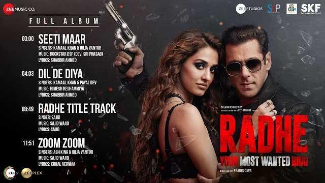 Zoom Zoom Lyrics | Radhe | Salman Khan