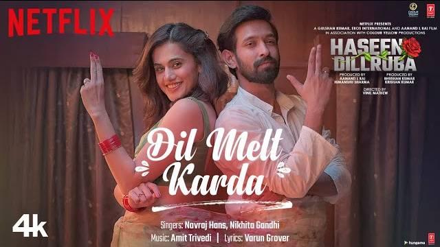 Dil Melt Karda Lyrics | Navraj Hans | Nikhita Gandhi
