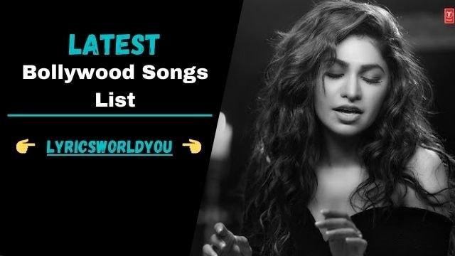 [Latest 100+] Bollywood Songs Lyrics In Hindi Download