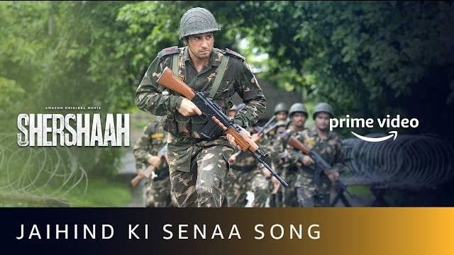 JAI HIND KI SENAA LYRICS - Shershaah | Sidharth Malhotra