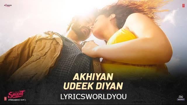 Akhiyan Udeek Diyan Lyrics - Master Saleem