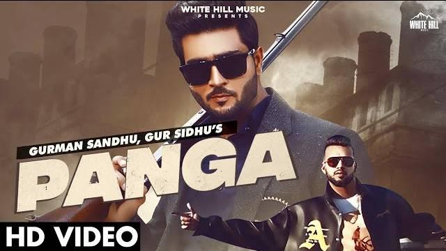 PANGA LYRICS - Gurman Sandhu | Gur Sidhu